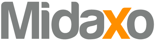 Midaxo Logo and Tagline
