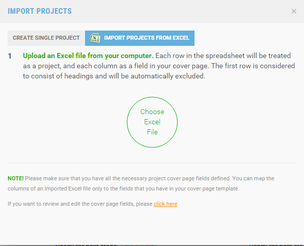 FAQs – Project Cover Page Template