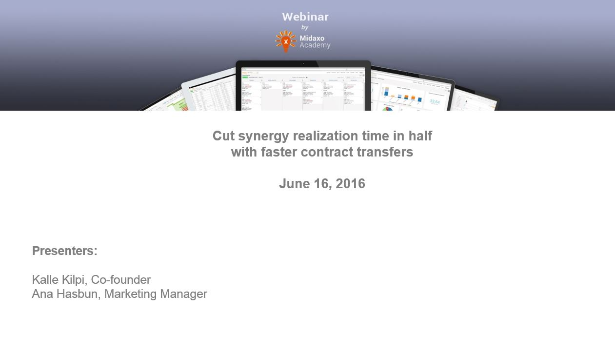 Webinar recording: Exponential Manufacturing and M&A
